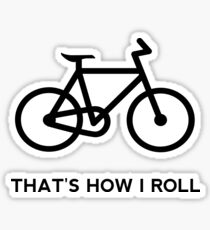 Funny Bicycle Sticker
