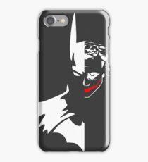 Batman/Joker - The Dark Knight iPhone Case/Skin