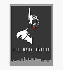Batman/Joker - The Dark Knight Photographic Print