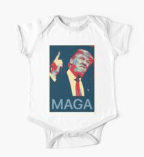 Donald Trump MAGA Make America Great Again Shirt  One Piece - Short Sleeve