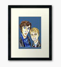 Sherlock Modigliani Framed Print