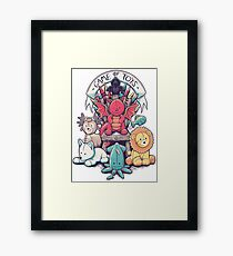 Game of Thrones - Game of Toys Framed Print