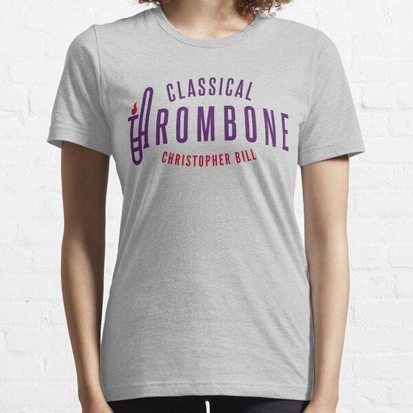Classical Trombone Full Color Logo Essential T-Shirt