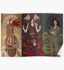Kick Ass Nouveau Women Poster