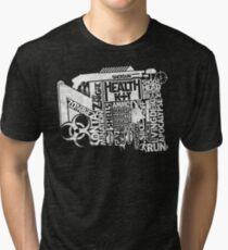 Survival Guide (white) Tri-blend T-Shirt