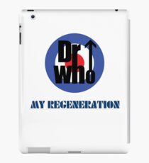 Dr Who My Regeneration iPad Case/Skin