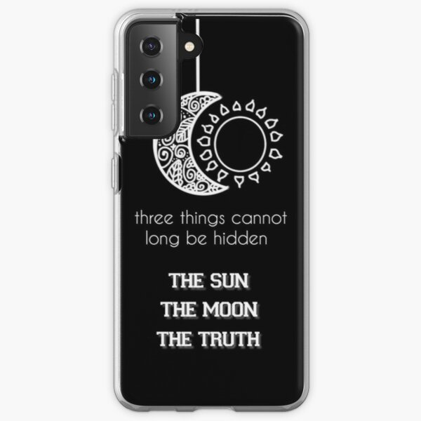 Supernatural - Teen Wolf Quote Samsung Galaxy Soft Case