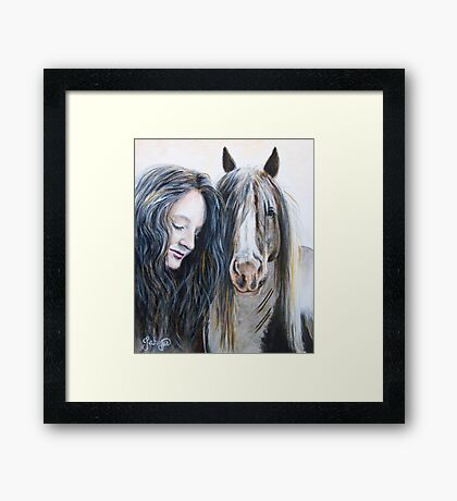 Comforted In Your Presence Framed Print