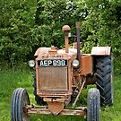 A Vintage Allis Chalmers Tractor by Andrew Harker