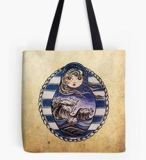Sea russian doll Tote Bag