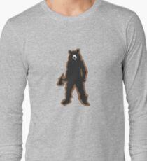 Man In a Bear Costume Long Sleeve T-Shirt