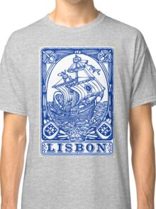 Lisbon Traditional Tiles Azulejos Classic T-Shirt