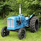 A Fordson Major Diesel Tractor by Andrew Harker