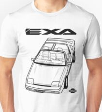 Nissan Exa Action Shot (LHD) Unisex T-Shirt