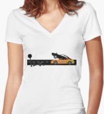 The Fast and the Furious Classic Moment Women's Fitted V-Neck T-Shirt