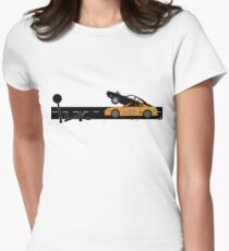 The Fast and the Furious Classic Moment Women's Fitted T-Shirt