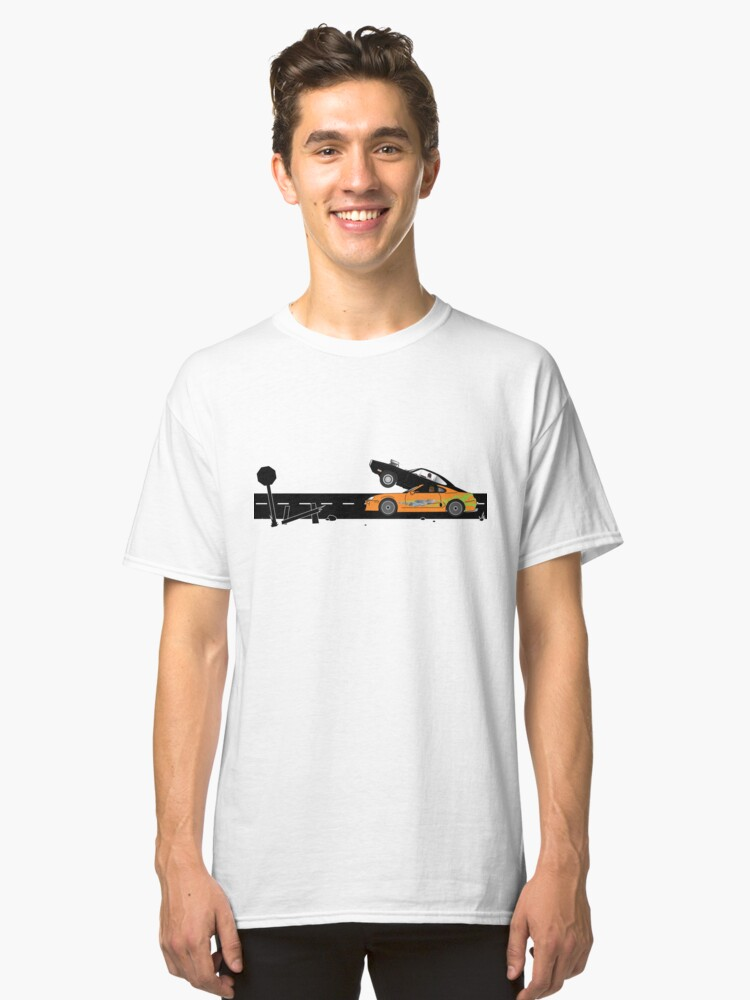 The Fast and the Furious Classic Moment Classic T-Shirt Front