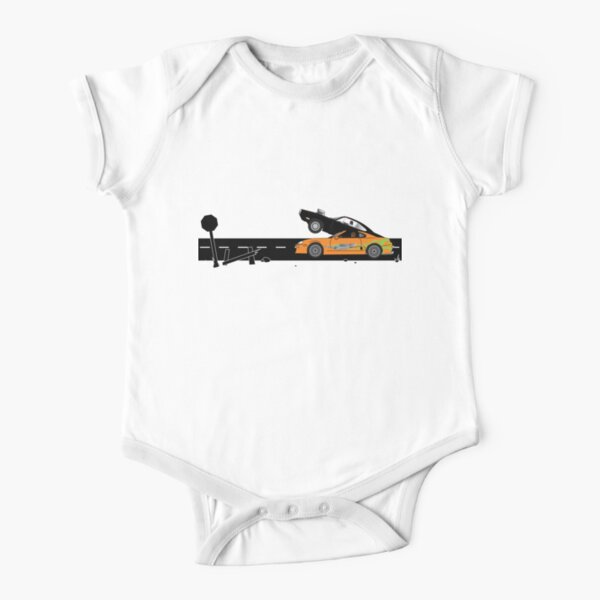 The Fast and the Furious Classic Moment Short Sleeve Baby One-Piece