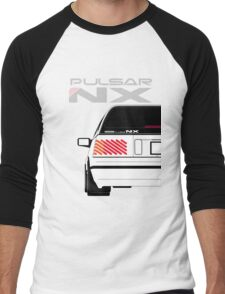 Nissan NX Pulsar Sportback - White Men's Baseball ¾ T-Shirt