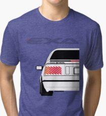 Nissan Exa Coupe - White Tri-blend T-Shirt