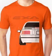 Nissan Exa Coupe - White Unisex T-Shirt
