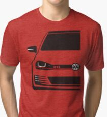 MK7 GTI Half Cut Tri-blend T-Shirt
