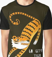 Go get'em Tiger Graphic T-Shirt
