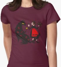 What's the time, Mr Wolf Womens Fitted T-Shirt