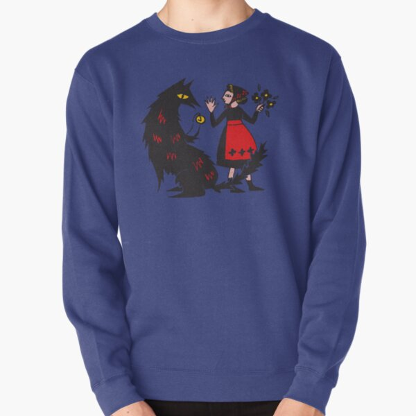What's the time, Mr Wolf Pullover Sweatshirt