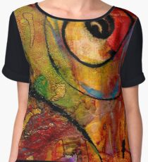 An Artist in Wonderland Women's Chiffon Top