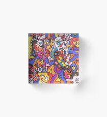 Joyful Acrylic Block