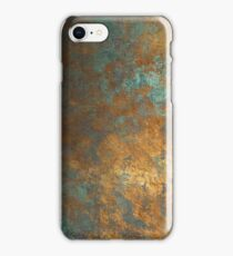 oxidized copper iPhone Case/Skin