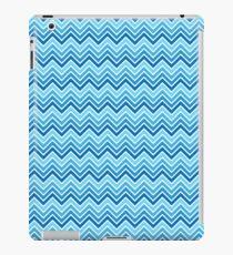 Shades of Aqua Ombre Chevron iPad Case/Skin