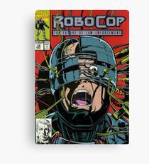 Robocop Comic Canvas Print