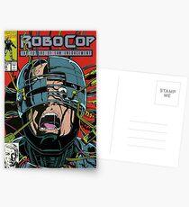 Robocop Comic Postcards