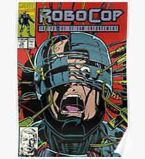 Robocop Comic Poster