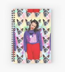 Miranda Sings with Cats Spiral Notebook