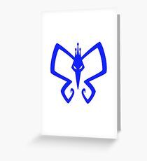 The Monarch Logo  Greeting Card