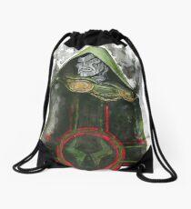 Doctor Doom Drawstring Bag