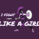 Athena: I Fight Like a Girl by cockroachman