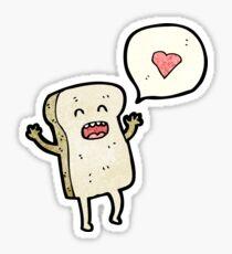 cartoon bread Sticker