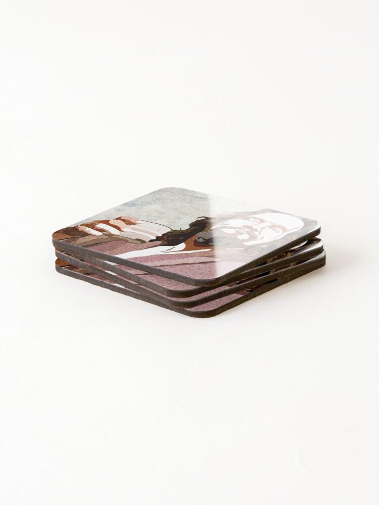 Alternate view of Big Lebowski DUDE Portrait Coasters (Set of 4)