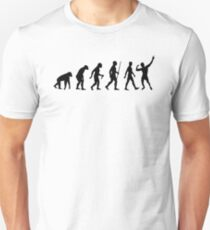 Evolution of Zyzz Black Unisex T-Shirt