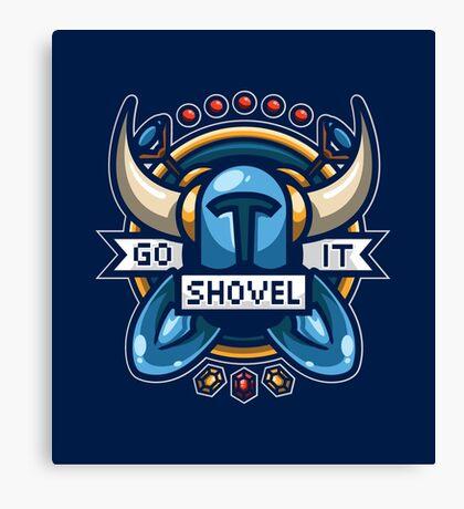 Go Shovel It Canvas Print