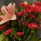 Carnation and Lily Bouquet by Eliseharris
