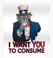 They Live Uncle Sam Poster