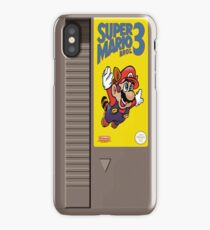 NES Mario 3 Cartridge  iPhone Case