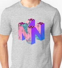 Nintendo 64 Vaporwave Logo T-Shirt