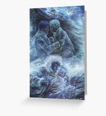 Left hand of darkness Greeting Card