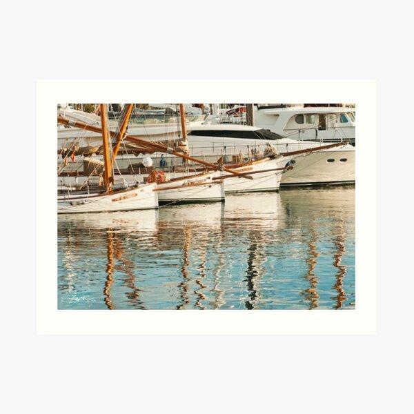 Barca Boats Art Print